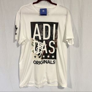 Adidas Originals Graphic T-Shirt NWT Large